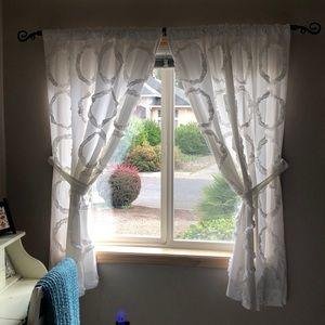 PB Teen cotton curtain panels